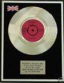 "THE SEARCHERS 7""Platinum DiscWHEN YOU WALK IN THE ROOM"